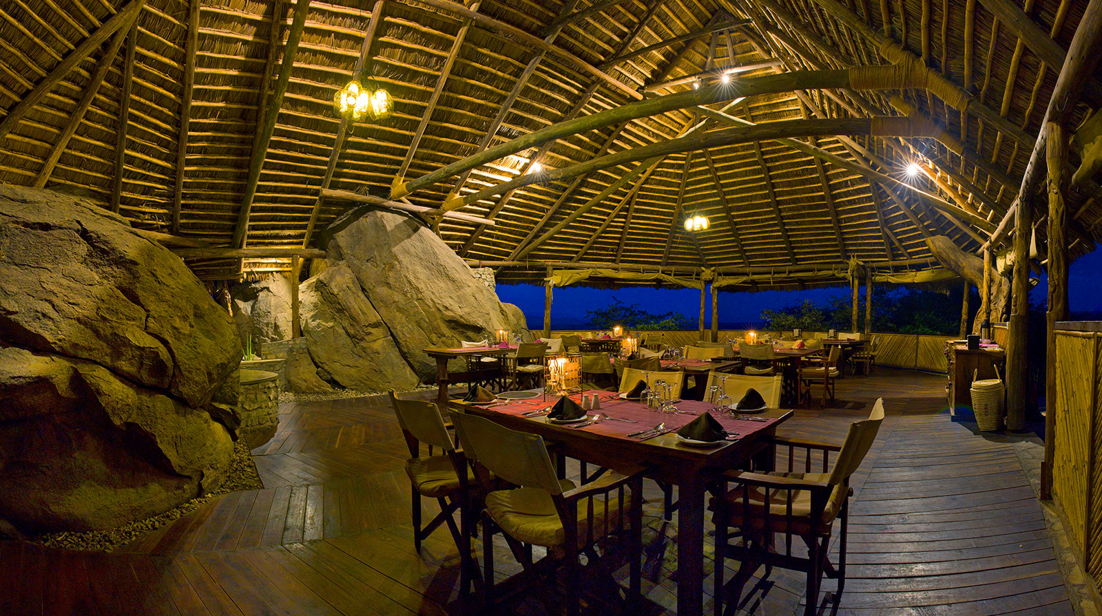 Olduvai Camp - Elegant atmosphere