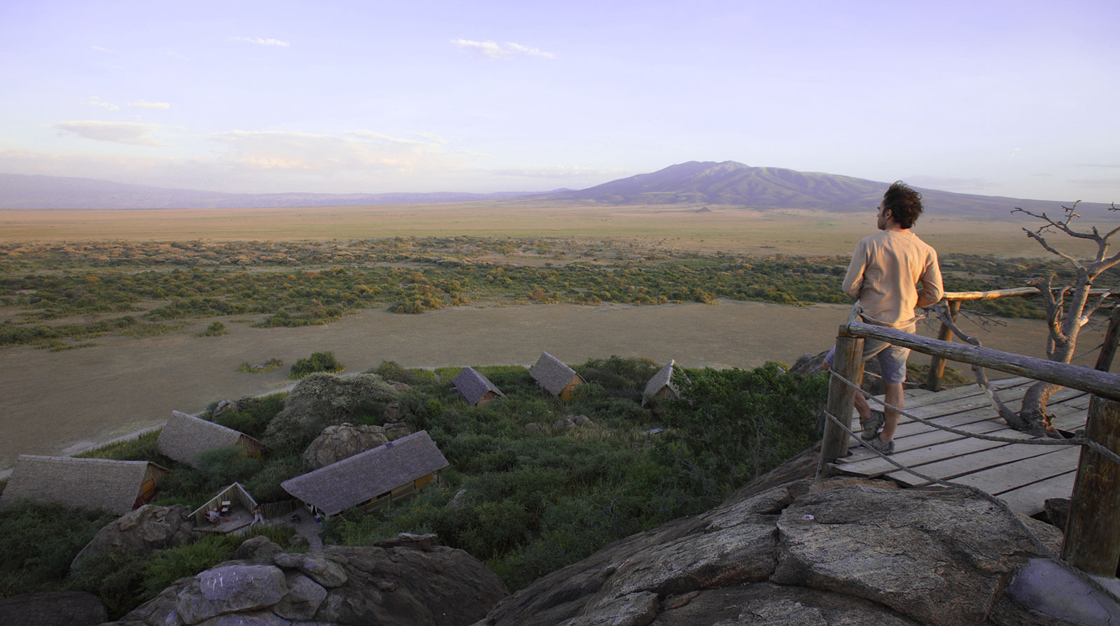 Olduvai Camp - Spectacular 360° view